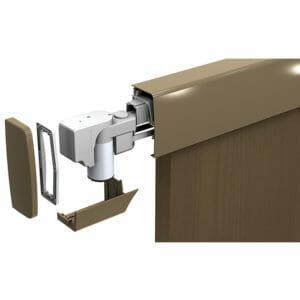 Motorised Face Mounted Door System